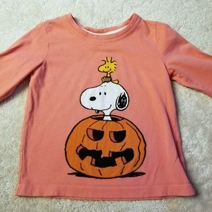 Size 90 (3T) Hanna Andersson Peanuts Tee
